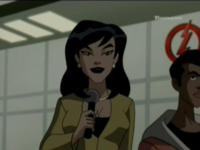 Linda Park as she appears in Justice League Unlimited