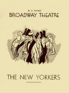 <i>The New Yorkers</i> musical
