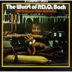 <i>The Wurst of P. D. Q. Bach</i> 1971 compilation album by Peter Schickele