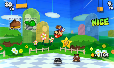 Paper Mario Sticker Star Espanol
