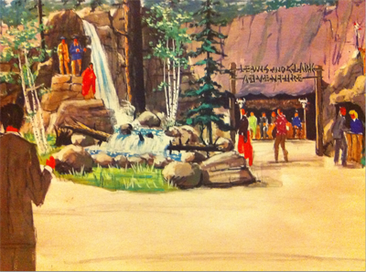 Disneyland Lewis and Clark Adventure