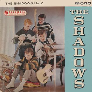 <i>The Shadows No. 2</i> 1961 EP by The Shadows
