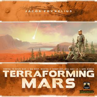 Picture of a game: Terraforming Mars