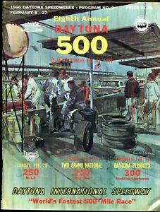 1966 Daytona 500 Auto race run in Florida in 1966
