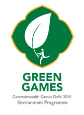 Logo for the Delhi 2010 Commonwealth Games bei...