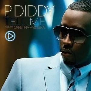 Diddy featuring Christina Aguilera — Tell Me (studio acapella)