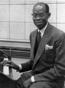 Fela Sowande Nigerian classical musician and composer
