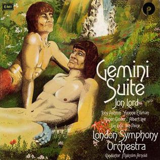 <i>Gemini Suite</i> album by Jon Lord