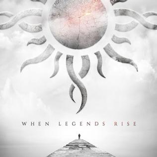 Image result for godsmack when legends rise album cover