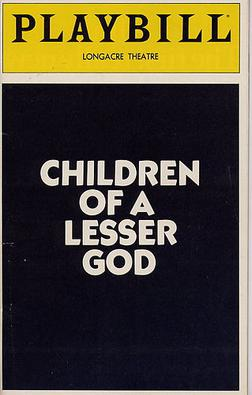 Image result for children of a lesser god book
