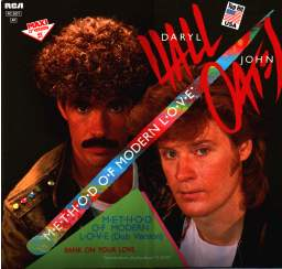 Imagem da capa da música Method of Modern Love de Hall & Oates