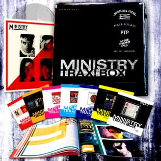<i>Ministry Trax! Box</i> 2015 box set by Ministry