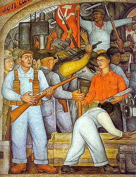 En el Arsenal detail, 1928 Rivera-the-arsenal.jpg