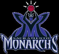 Sacramento Monarchs Womens basketball team