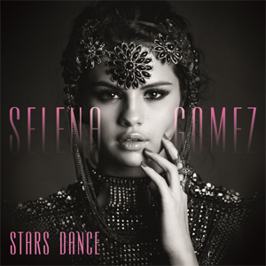 The cover image features face of Selena Gomez, laden with ornaments, upon black background. Album title appears at the bottom left.