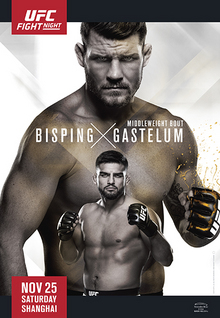 UFC Fight Night: Bisping vs. Gastelum UFC mixed martial arts event in 2017
