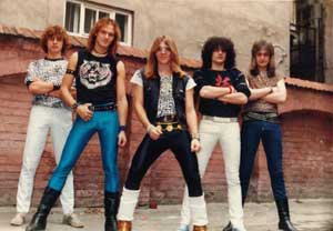 Warriors (band) former Yugoslav/Canadian heavy metal band