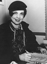 Portrait of Anita Loos