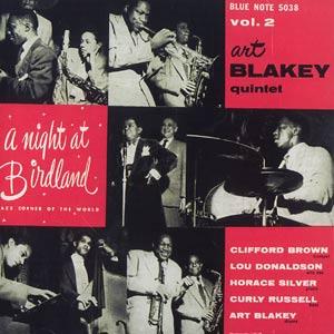 <i>A Night at Birdland Vol. 2</i> 1954 live album by Art Blakey