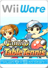 <i>Family Table Tennis</i> video game