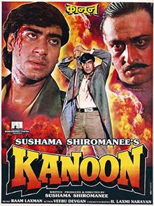 <i>Kanoon</i> (1994 film) 1994 Indian Hindi-language film directed by Sushma Shiromani
