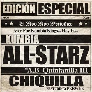 Imagem da capa da música Chiquilla de Kumbia All Starz