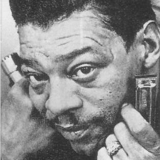 Little Walter American blues harmonica player