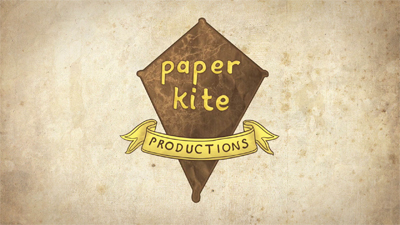 Paper Kite Productions Production logo, as seen on Broad City