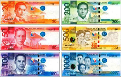 Banknotes Of The Philippine Peso