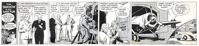 Walter Gibson's and Vernon Greene's The Shadow (August 12, 1940). Shadowverngreene1.jpg
