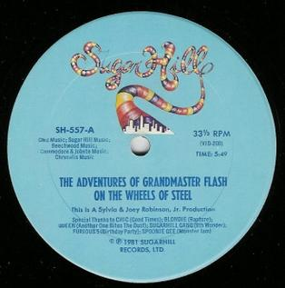 The Adventures of Grandmaster Flash on the Wheels of Steel 1981 single by Grandmaster Flash