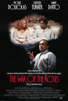 Film poster for The War of the Roses - Copyrig...