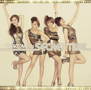 <i>Welcome to Secret Time</i> 2012 studio album by Secret
