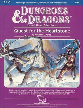 Cover of XL-1 Quest for the Heartstone