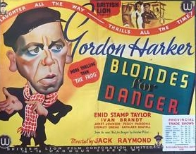 <i>Blondes for Danger</i> 1934 film by Jack Raymond