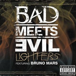 Bruno Mars >> The Receipts Bad_Meets_Evil_-_Lighters_(Bruno_Mars_single)