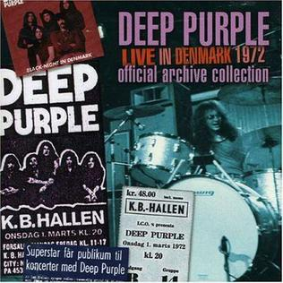 <i>Live in Denmark 1972</i> live album