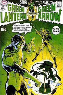 Green Lantern (vol. 2) #76 (April 1970). Cover...