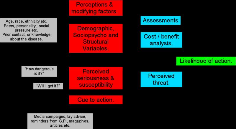 Health-Belief Model & Health-Seeking Behavior