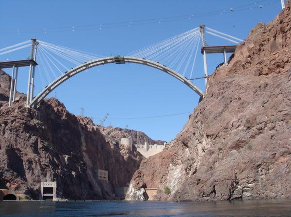 Hoover Dam Bypass refers to the construction of the Mike O'Callaghan-Pat