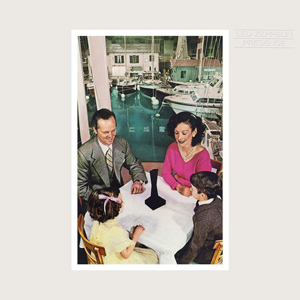 <i>Presence</i> (album) 1976 studio album by Led Zeppelin