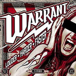 <i>Louder Harder Faster</i> 2017 studio album by Warrant