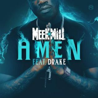 Meek Mill featuring Drake — Amen (studio acapella)