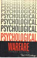 Psychological Warfare Linebarger