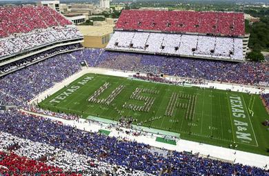 kyle field amazing college stadiums