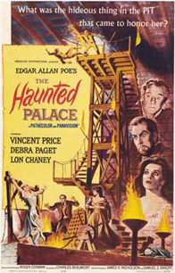 <i>The Haunted Palace</i> 1963 film by Roger Corman