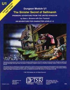 Cover of U1 The Sinister Secret of Saltmarsh