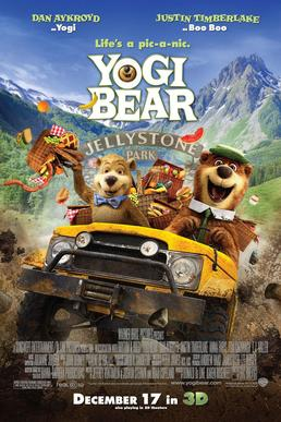 Yogi Bear (2010) movie poster