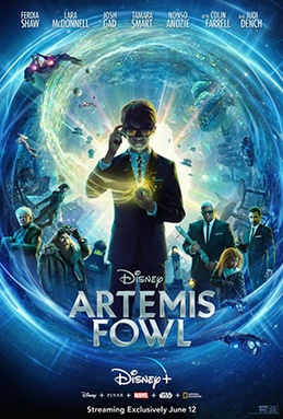 movies cancelled coronavirus. artemis fowl poster