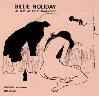 Billie Holiday at Jazz at the Philharmonic artwork
